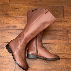 Cole Haan Leather Riding Boots